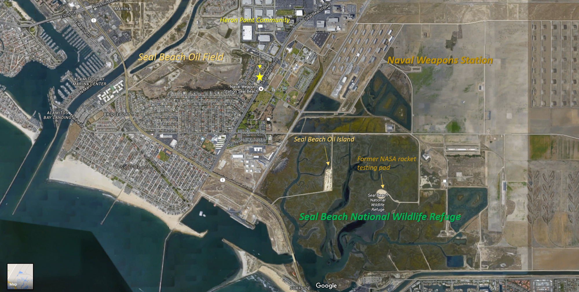 Greater Seal Beach Oil Field Area