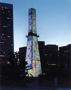 Beverly Hills Oil Field - Tower of Hope - Courtesy of Venoco Inc. http://www.venocobeverlyhills.com/tower-of-hope/